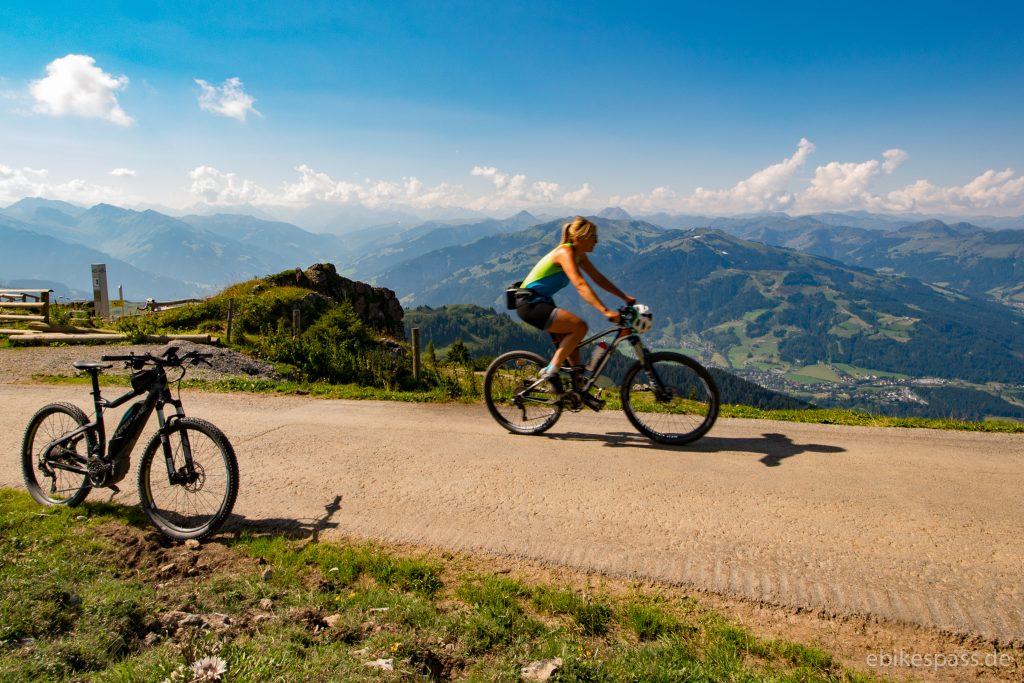 Läufer, Radfahrer, Wanderer - Entspanntes Miteinander am Kitzbüheler Horn