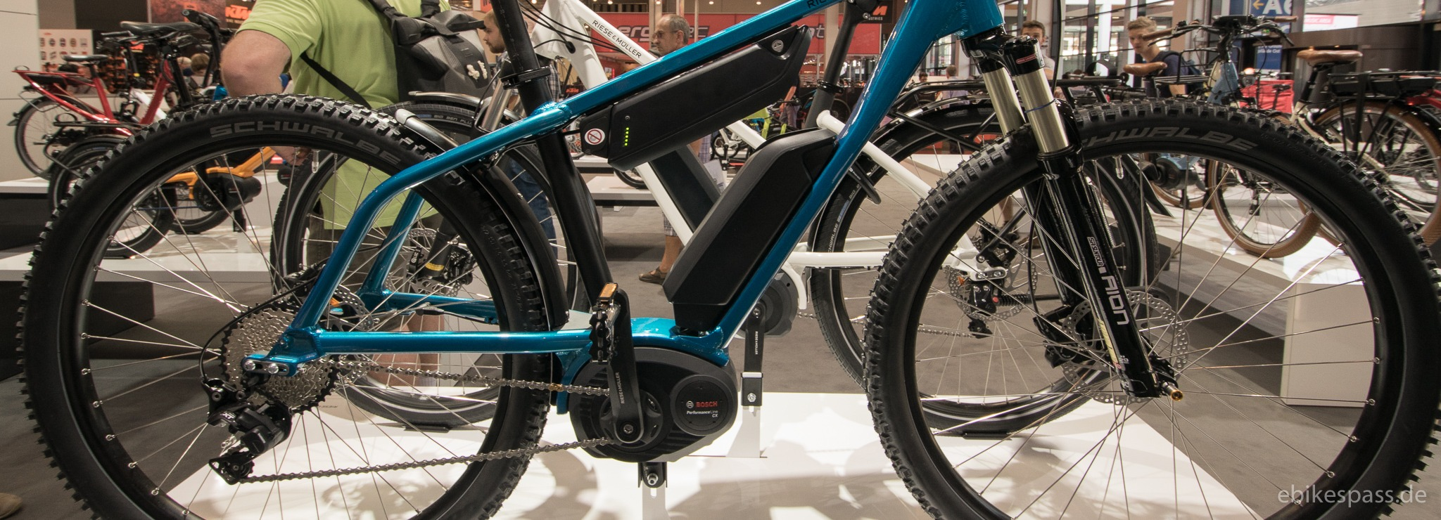 E-Bike von Riese & Müller - Charger