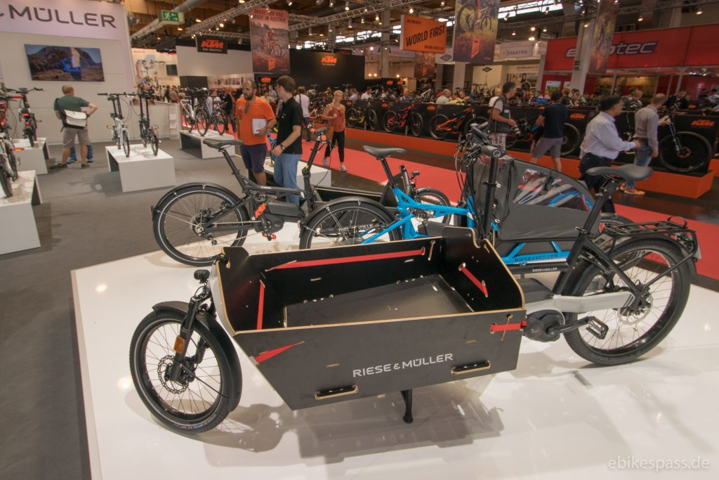 Lastenrad E-Cargo Packster