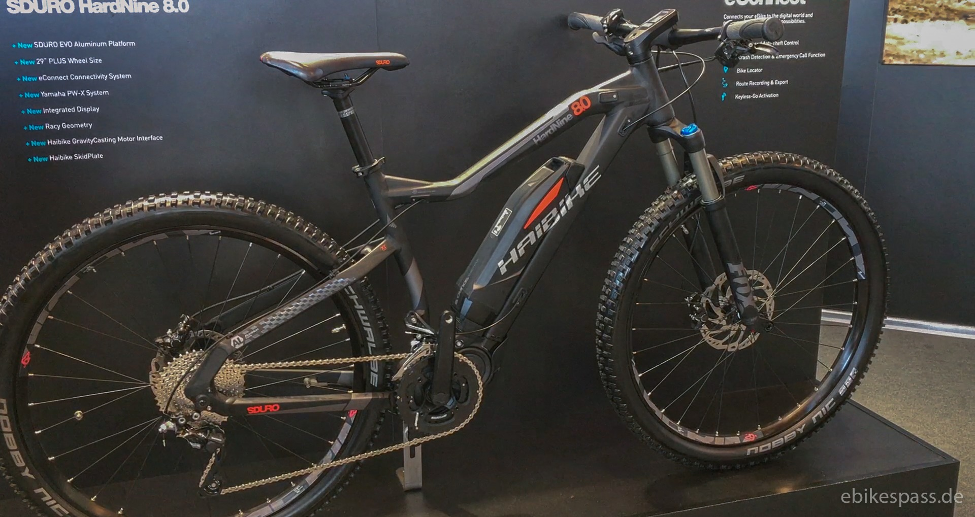 Haibike SDURO Evo 8.0 - E-Bike