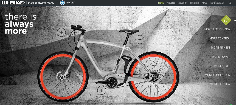 Die Vespa unter den E-Bikes – Piaggo stellte Wi-Bike-Serie vor