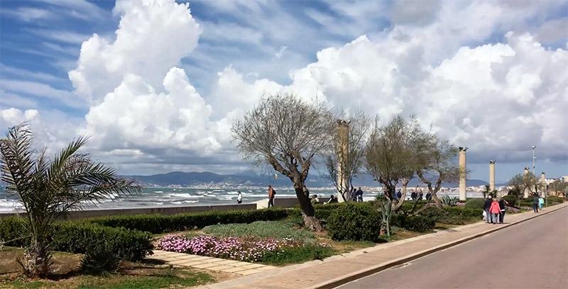 Playa de Palma im März