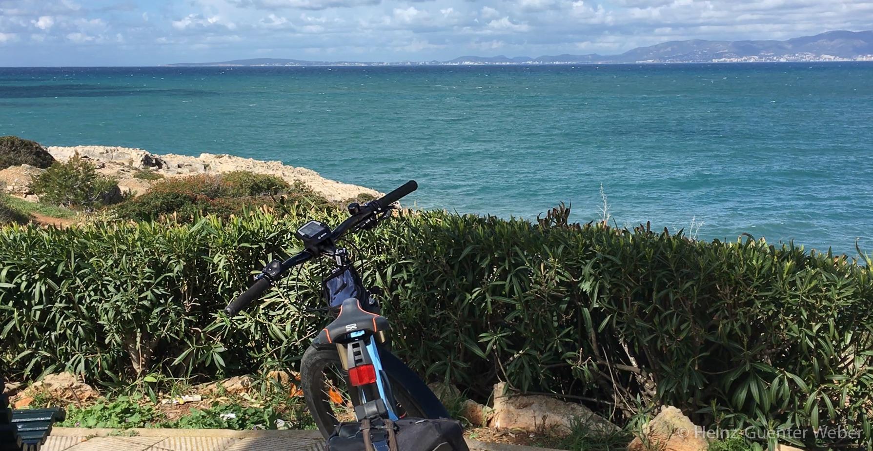 E-Bike an der Playa de Palma
