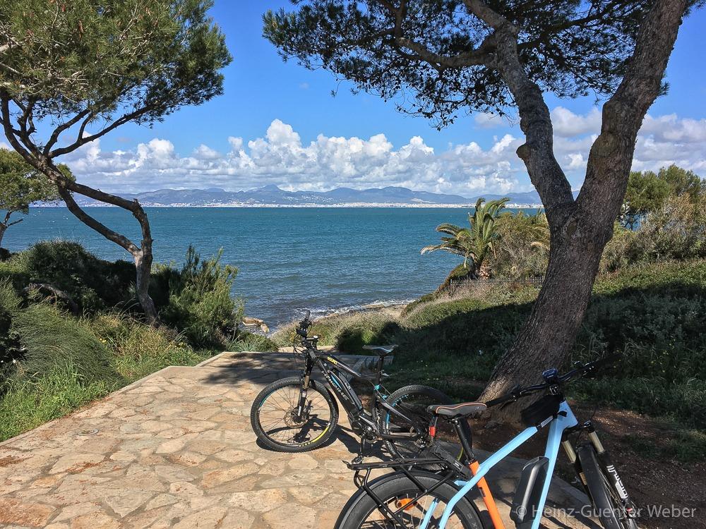 Aussicht auf die Bucht von Palma