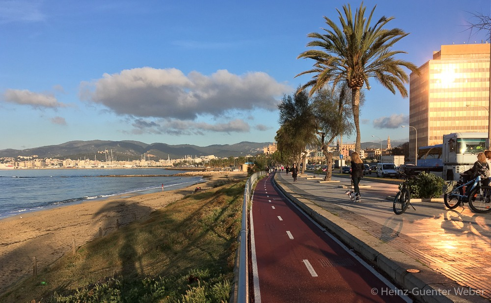 Radweg nach Palma