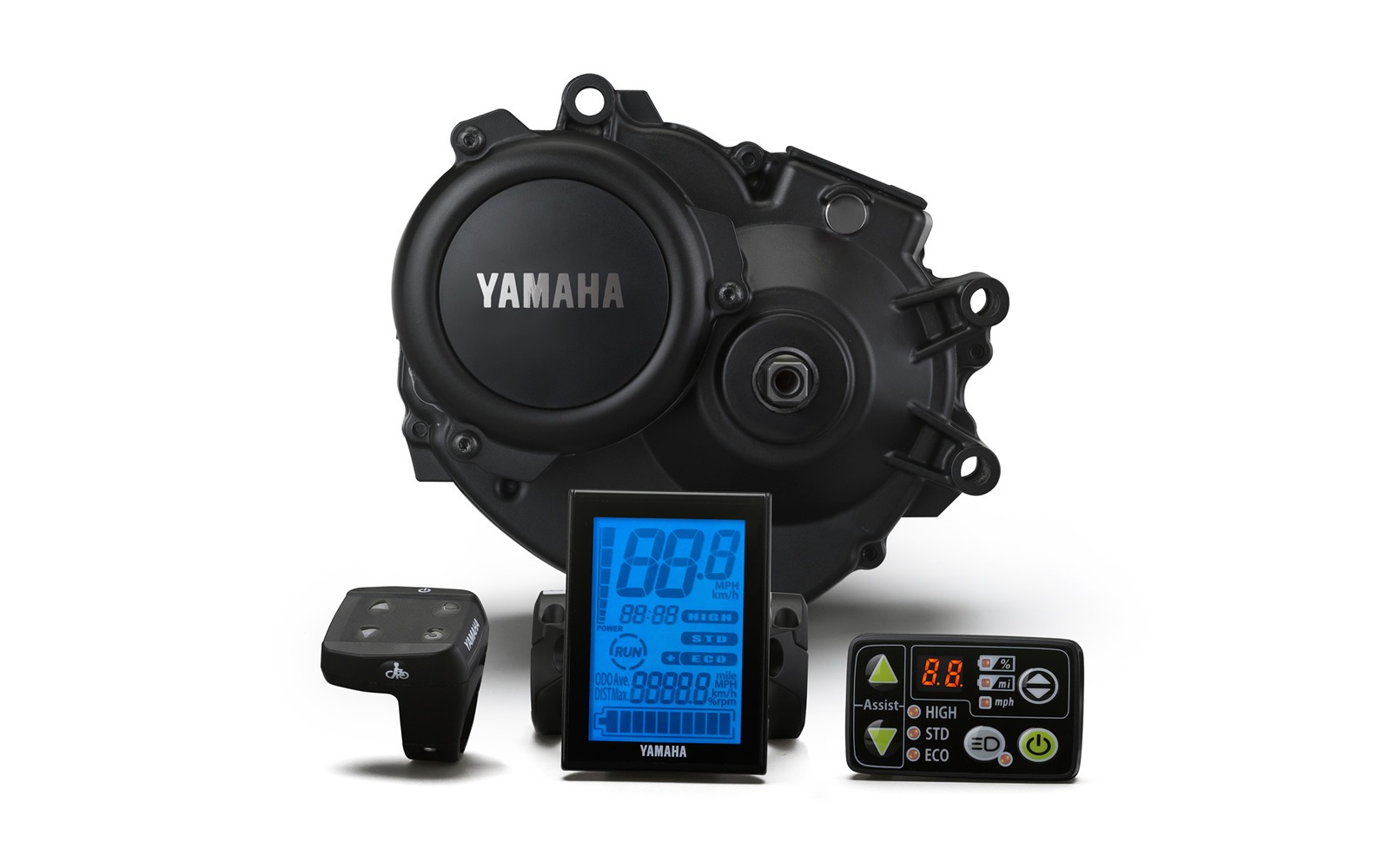 Yamaha PW-Serie - E-Bike-Motor und Displays