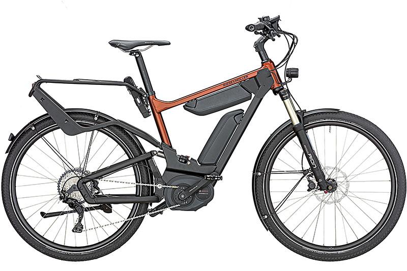 E-Bike Delite Touring mit Kettenschaltung