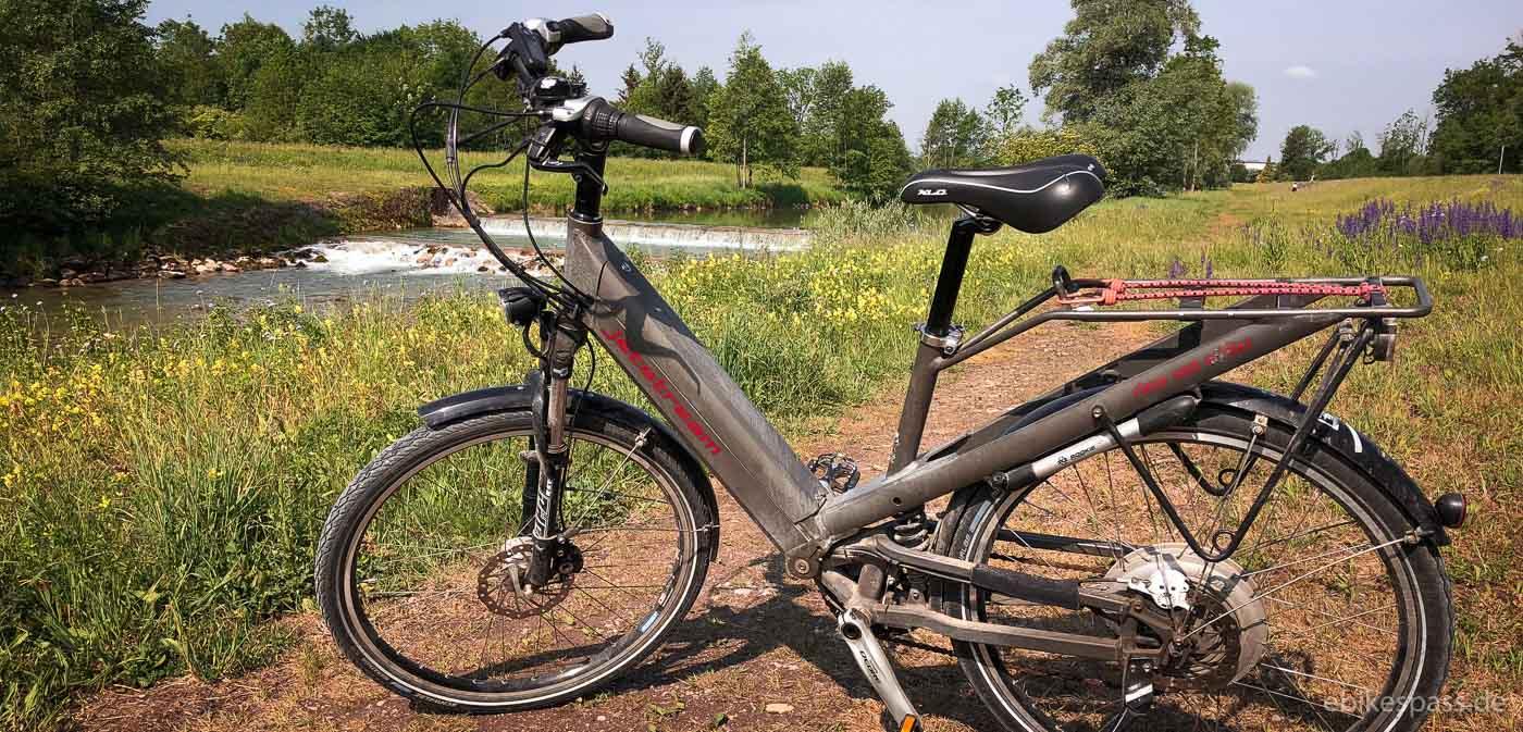 Acht Jahre, zwei E-Bike Klassiker und eine Wiederbelebung – Erfahrungen mit dem Winora town e:xp und Riese & Müller Jetstream