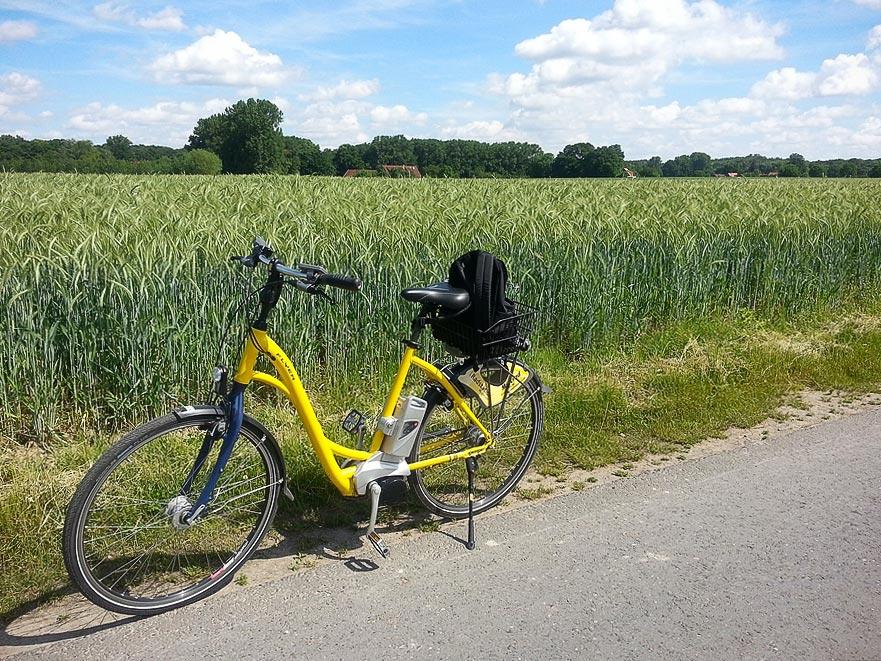 Unterwegs in den Niederlanden mit einem Flyer E-Bike