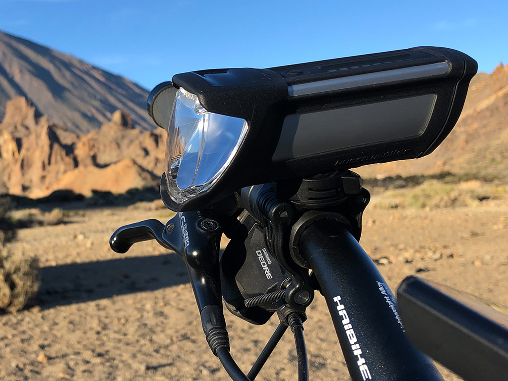 Akku-LED-Fahrradlicht