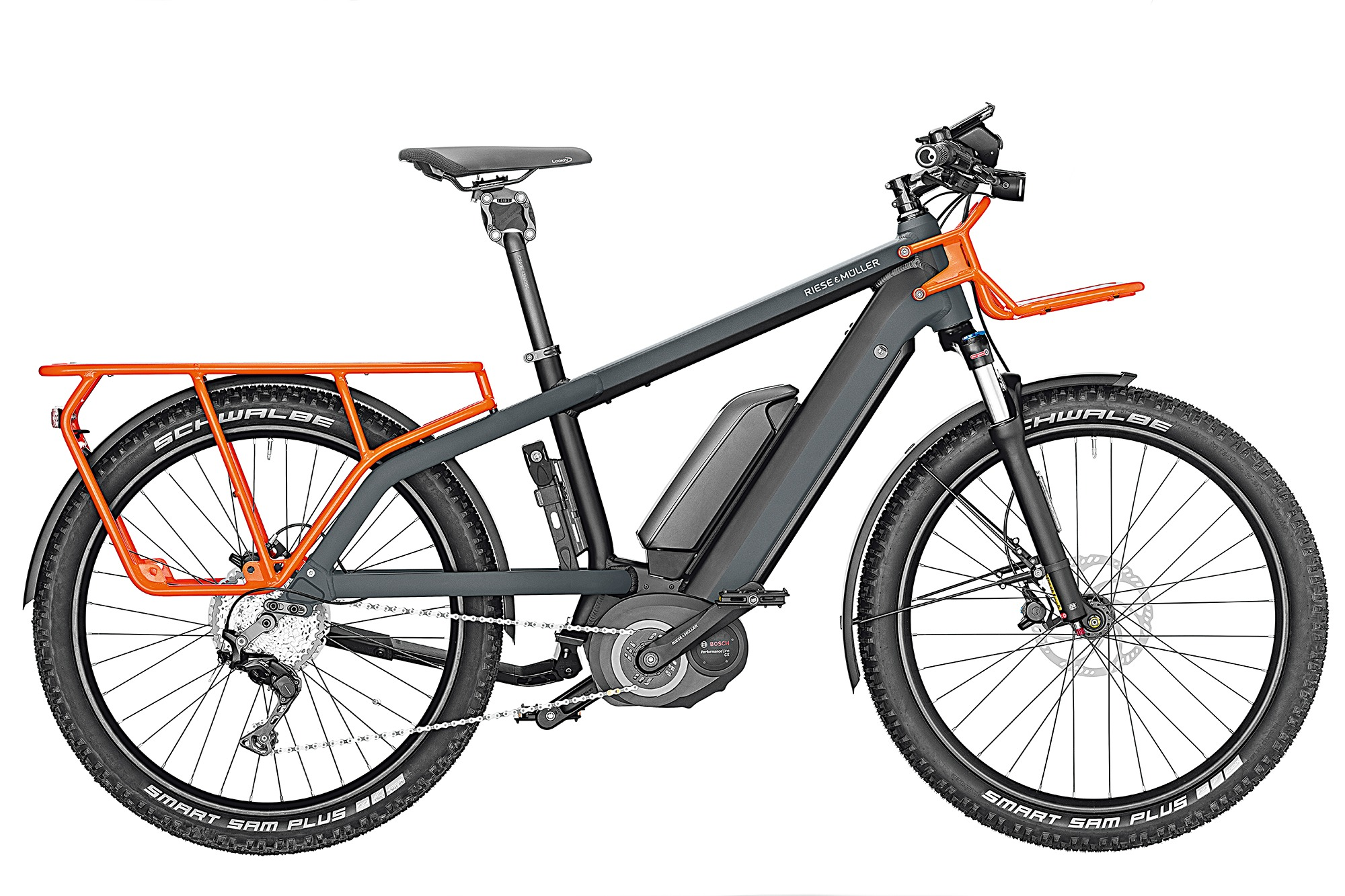Multicharger GX Touring mit Dual Battery Ausstattung und Cobi Display