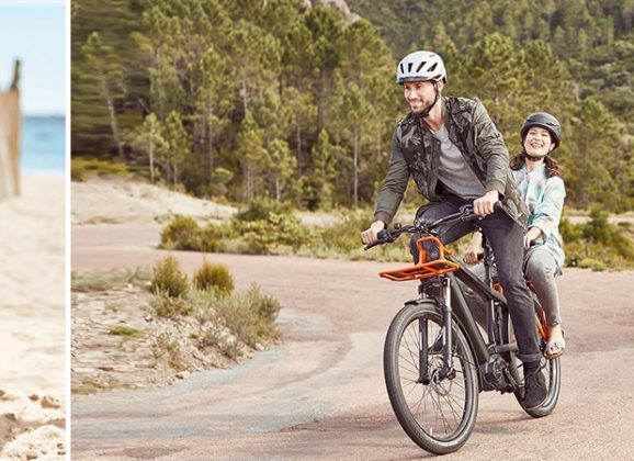 Das Multicharger – Backpacking mit dem E-Bike