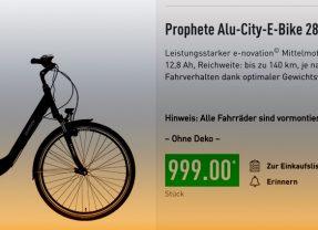 Wie viel Spaß macht das Aldi E-Bike? [Update 2020]