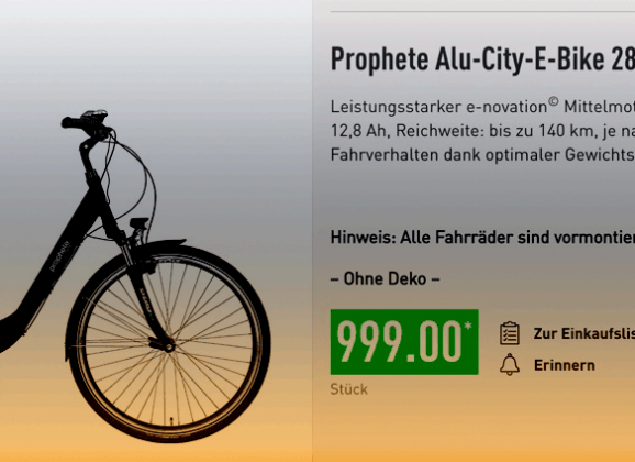 Wie viel Spaß macht das Aldi E-Bike?