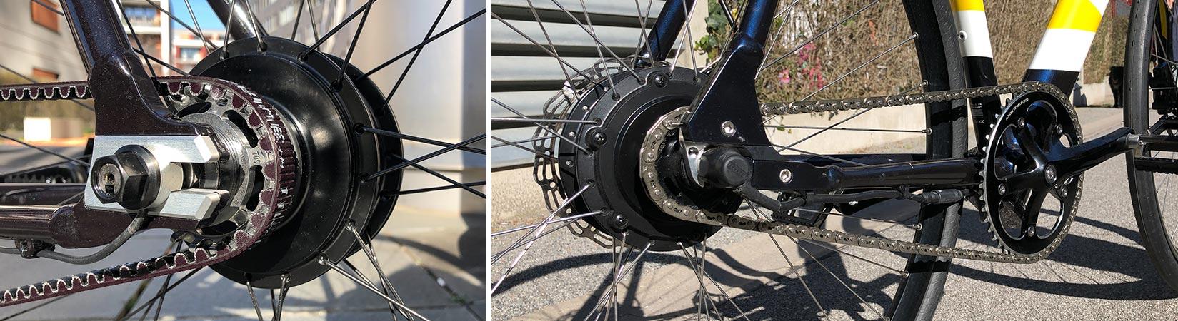 Comeback der Hinterrad-Nabenmotoren? – Leichte Urban und Gravel E-Bikes setzen auf den Hinterradmotor