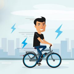 Supermanns Beine: Die besten E-Bike Zitate