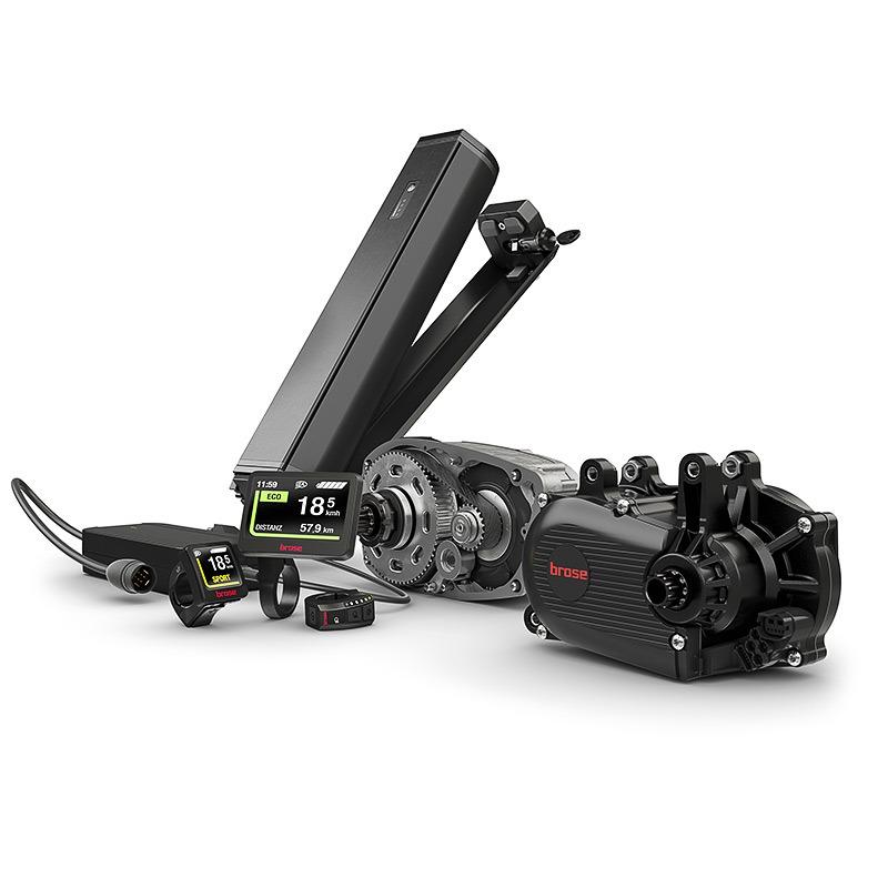 Brose Drive System: Motoren, Akkus, Displays