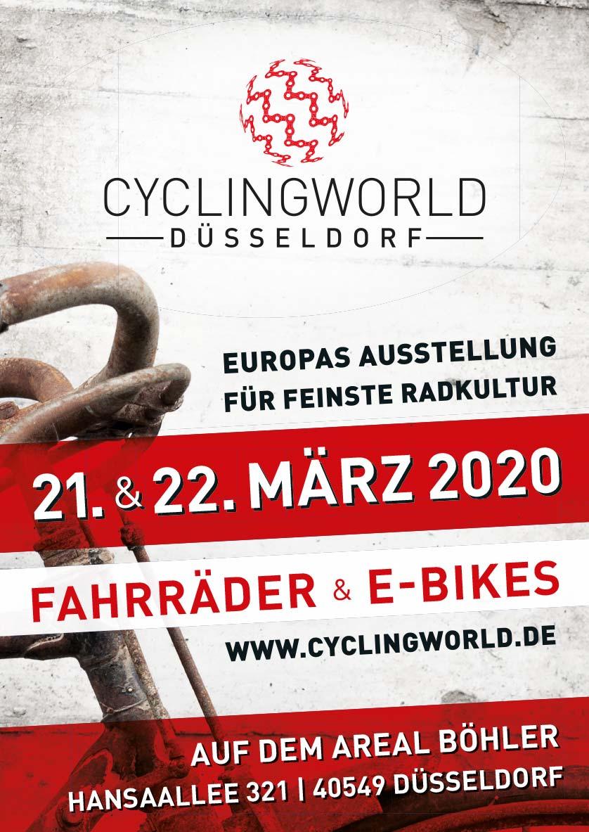 Plakat CYCLINGWORLD 2020