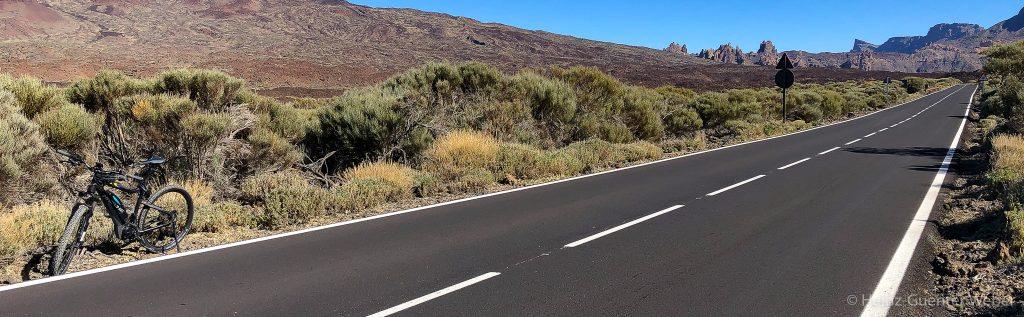 In der Caldera des Teide, an der TF21