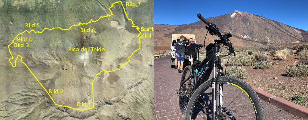GPS-Track Teide Umrundung