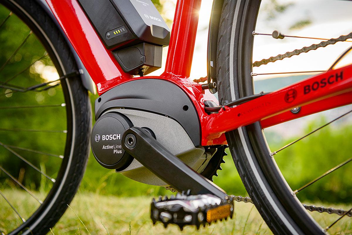 E-Bike mit Active Plus Motor von Bosch