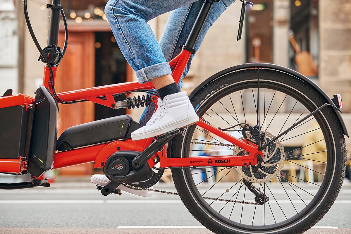 Lasten-E-Bike mit Bosch Cargo Line Motor