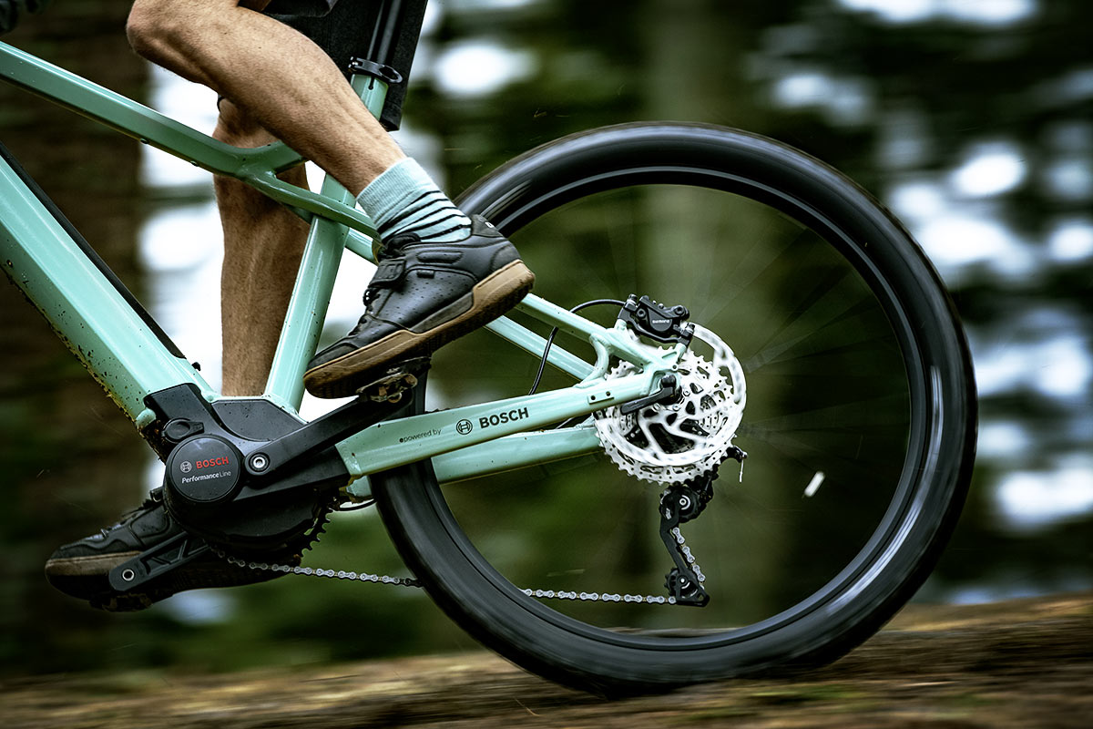 E-Bike mit Bosch Performance Line Motor