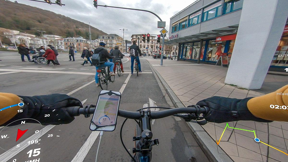 Pendeln im Stadtverkehr: Stop and Go
