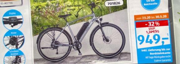 ALDI Prophete Trekking-E-Bike Damen/Herren