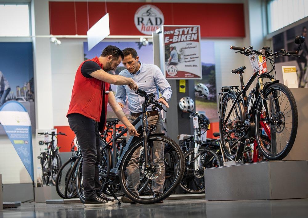Beratung zum E-Bike-Kauf