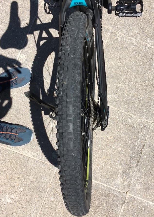Achter im Hinterrad - Versicherungsfall für die E-Bike Versicherung