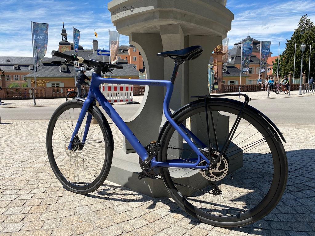 Urwahn Platzhirsch E-Bike, kobaltblau