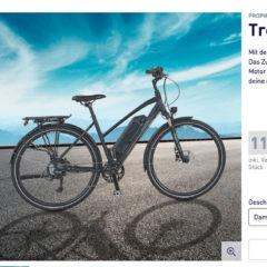 ALDI Trekking-E-Bike Damen/Herren 2021